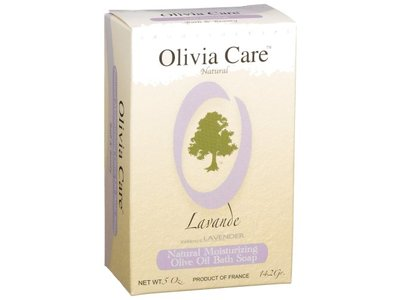 Olivia Care Olive Oil Soap, Lavender, 5 Ounce Box