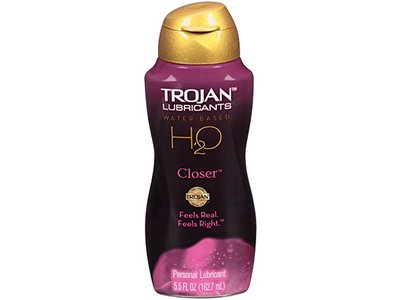 Trojan Lubricants H2O Closer, 5.5 Oz