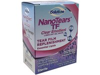 NanoTears TF Preservative Free Clear Emollient Lubricant Gel Eye Drops, 32 count - Image 2
