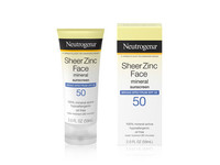 Neutrogena Sheer Zinc Dry-Touch Face Sunscreen with SPF 50 - Image 2