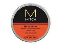 Paul Mitchell Matterial Strong Hold Ultra Matte Styling Clay, 3 oz - Image 2