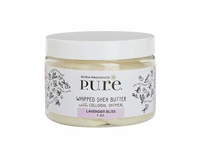 Shea Radiance Whipped Shea Butter Lavender Bliss, 4 oz