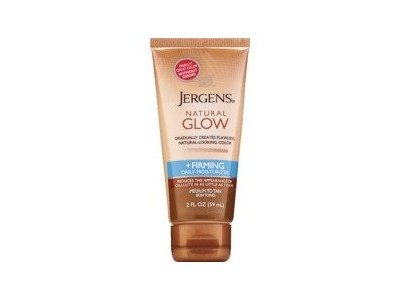 Jergens Natural Glow & Firming Daily Moisturizer, Medium to Tan Skin Tones
