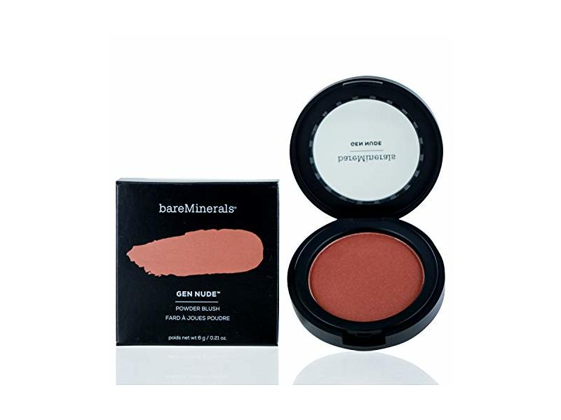 BAREMINERALS Gen Nude Powder Blush, But First Coffee, 0.21 OZ