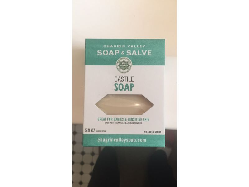 Chagrin Valley Soap & Salve Castile Soap, 5.8 oz