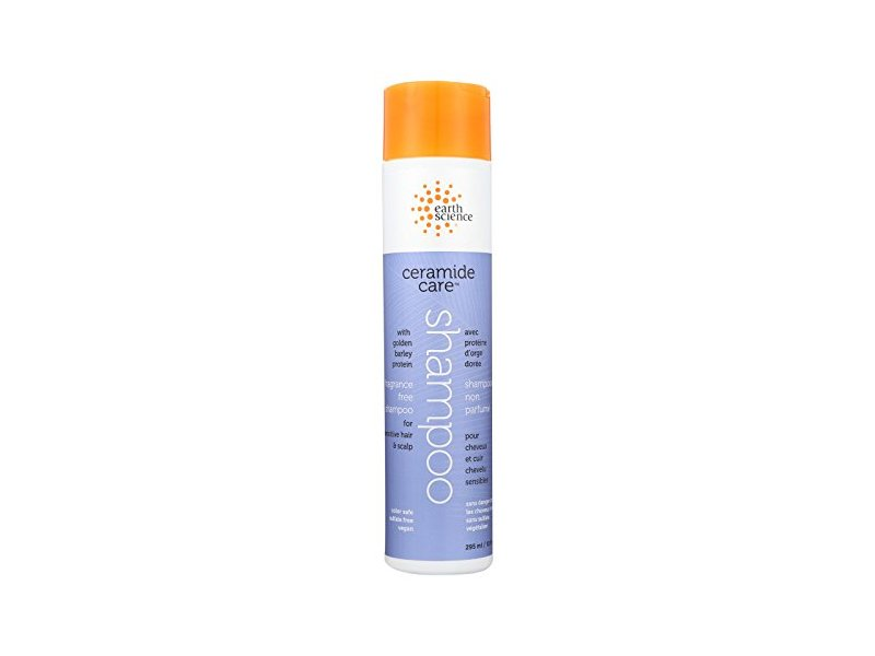 Earth Science Ceramide Care Shampoo , Fragrance Free, 10 fl oz