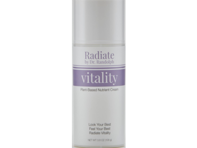 Radiate By Dr. Randolph Vitality Plant-Based Nutrient Cream, 3.8 oz