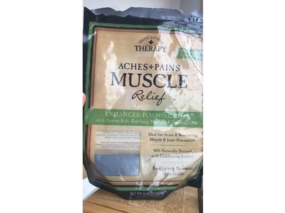 Village Naturals Therapy Muscle Relief Foaming Epsom Soak 36 oz. 3pack - Image 3