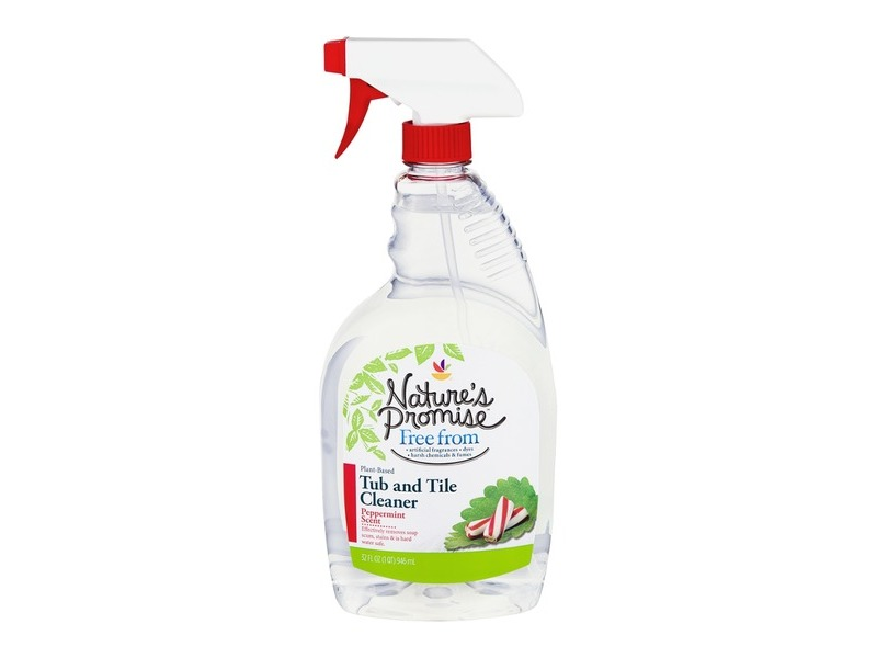 Nature s Promise Tub and Tile Cleaner  Peppermint  32 fl oz  Loading zoom. Nature s Promise Tub and Tile Cleaner  Peppermint  32 fl oz