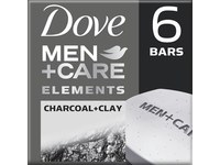 Dove Men+Care More Moisturizing Than Bar Soap Charcoal + Clay Body and Face Bar - Image 2