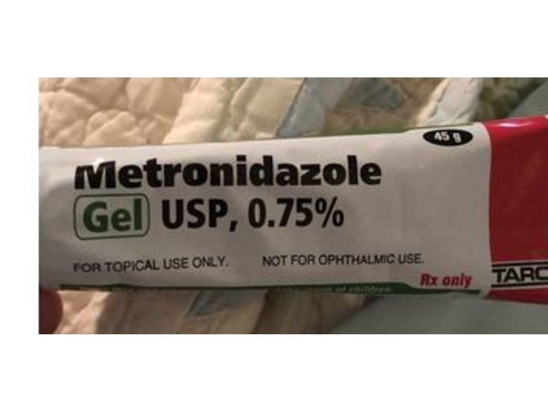 Metronidazole Gel USP 0.75% (RX), 45 G Taro Pharmaceuticals