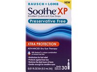 Soothe Xtra Protection Preservative Free Emollient Lubricant Eye Drops, 30 Count - Image 6