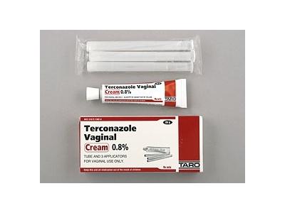 Terconazole 3 Day 0.8% Vaginal Cream (RX) 20 Grams, Taro Pharmaceuticals - Image 1