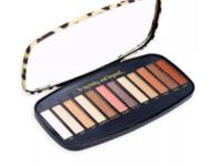 Cai Animal Print Eyeshadow Palette, Tan, 12 Shades - Image 3
