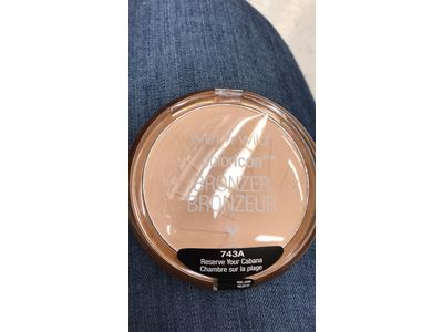 Wet N Wild Color Icon Bronzer, Reserve Your Cabana Spf 15, .46 oz - Image 3
