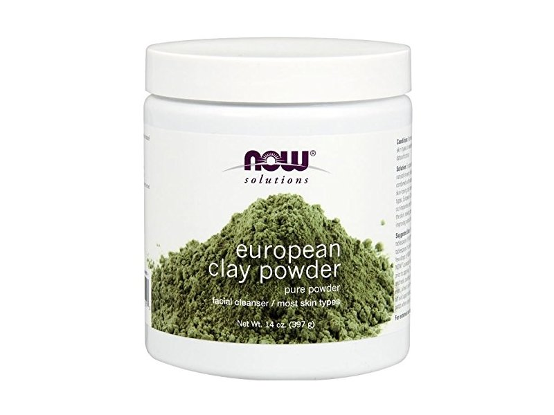 Now Solutions European Clay Powder Facial Cleanser, 14 oz
