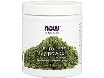 Now Solutions European Clay Powder Facial Cleanser, 14 oz