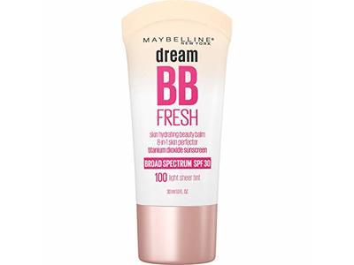 Maybelline Dream Fresh Skin Hydrating BB cream, SPF 30, Light, 1 Fl Oz