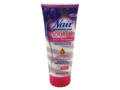 Nair Hair Remover Cream, Nourish Skin Renewal, 7.9 oz (Pack of 6)
