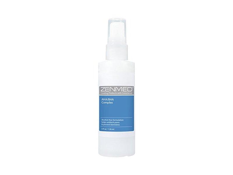 Zenmed AHA/BHA Complex Alcohol-Free Alpha Beta Hydroxy Acid Toner