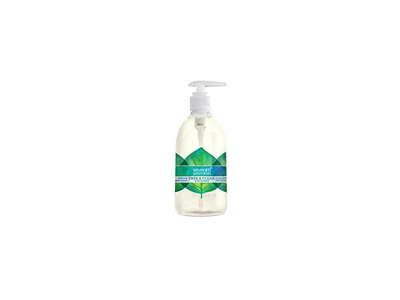 Seventh Generation Hand Wash Soap, Free & Clean Unscented, 12 fl oz