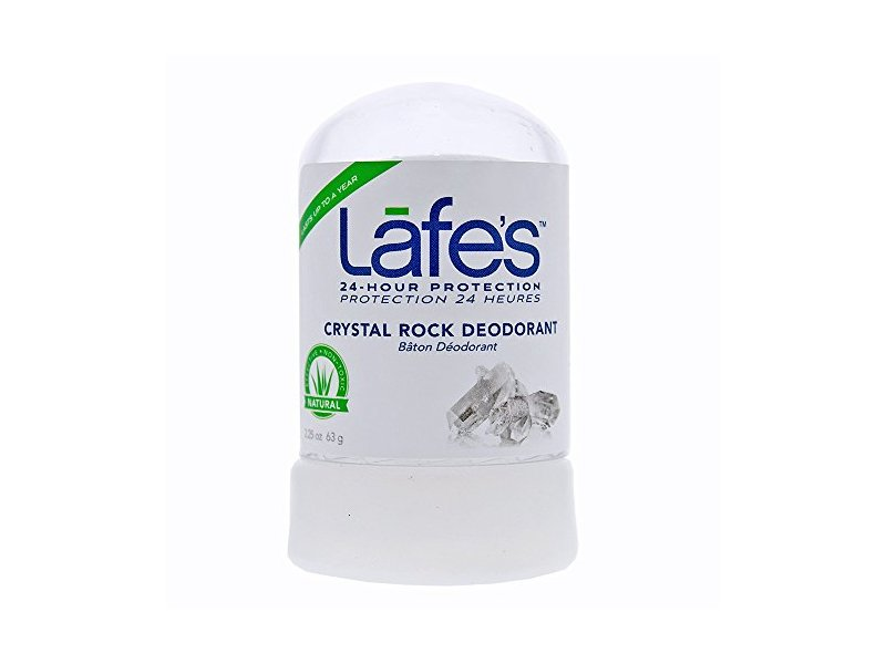 Lafe's Natural Body Care Crystal Rock Deodorant, Mini Stick, 2.25 OZ