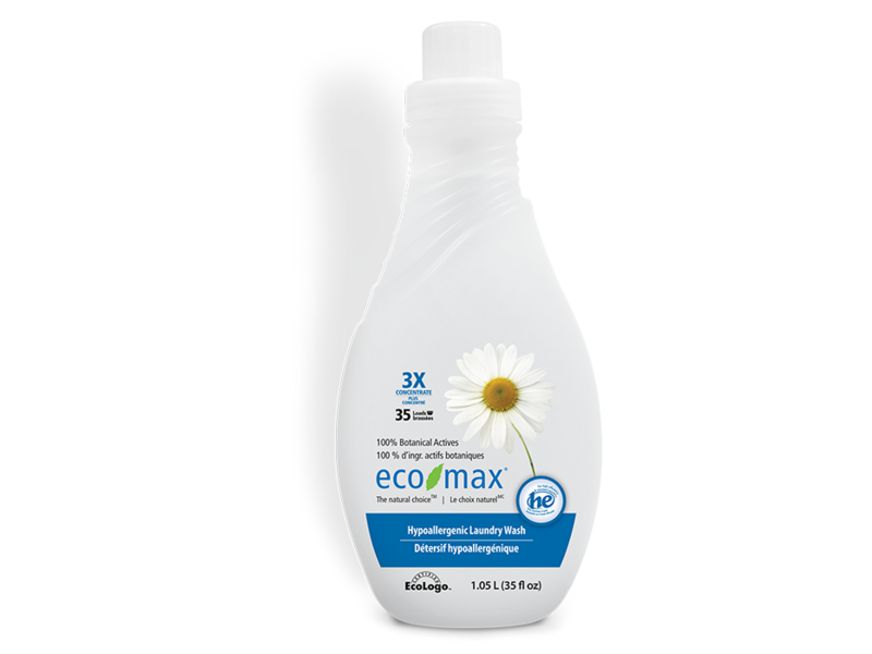 Eco Max Laundry Detergent 1 05 L 35 Fl Oz Ingredients And