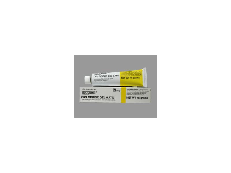 Ciclopirox Gel 0.77% (RX), 30 Grams, Fougera