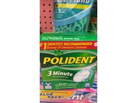 Polident 3-minute Denture Cleanser Tablets, 40-Count - Image 3
