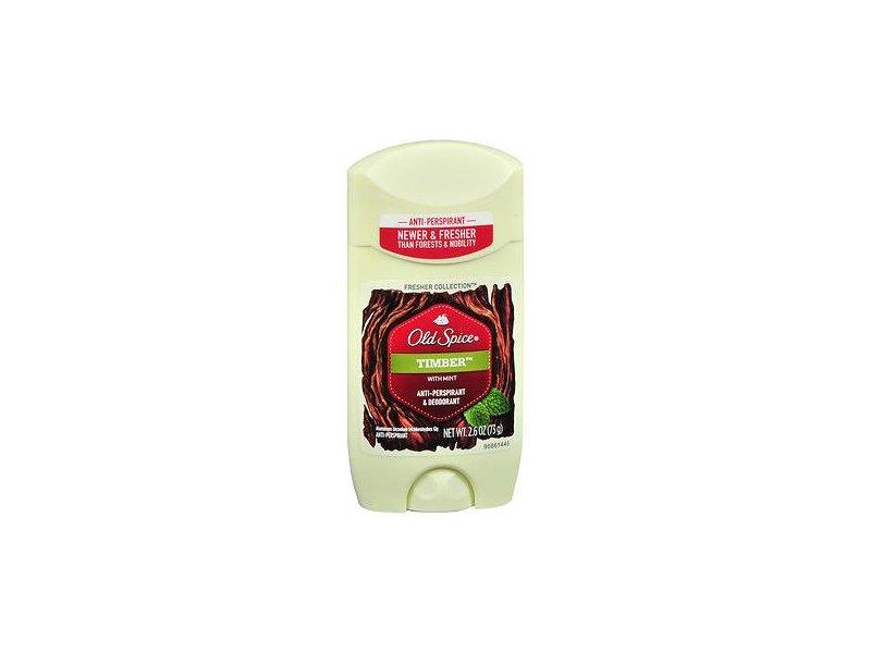 Old Spice Anti-Perspirant & Deodorant, Timber, 2.6 oz