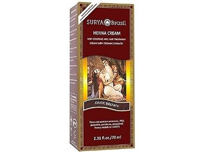 Surya Brasil Henna Cream, Dark Brown, 2.37 fl oz