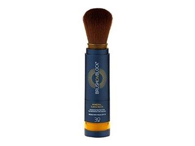 Brush On Block Mineral Powder Sunscreen, SPF 30, Translucent, 0.12 oz