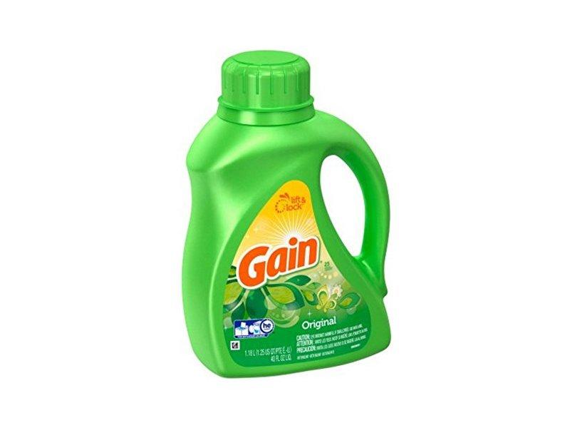 Gain Liquid Detergent with Original Scent, 25 loads, 40 fl oz