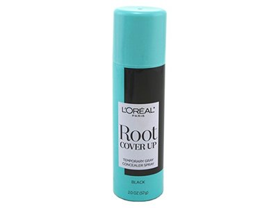 L'Oreal Paris Root Cover Up Temporary Gray Concealer Spray, Black, 2.0 oz (6 pack)