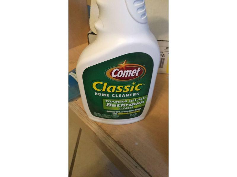Comet Bathroom Cleaner Spray 32 Oz Ingredients And Reviews