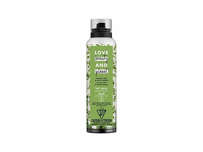 Love Beauty and Planet Hair Spray, Coconut Milk & White Jasmine, 6.8 oz