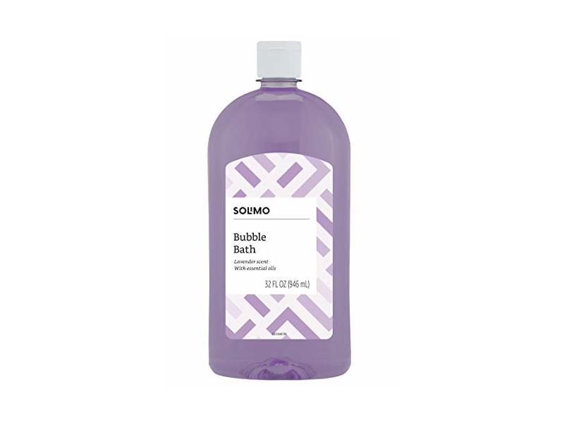 Solimo Lavender Bubble Bath, 32 Fluid Ounce