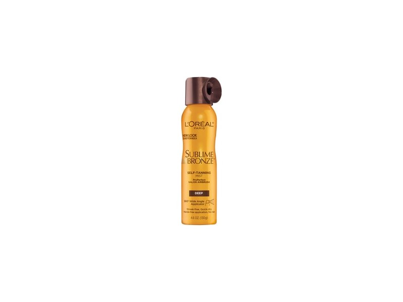 L'Oreal Paris Sublime Bronze ProPerfect Salon Airbrush Self-tanning Mist, Deep Natural Tan