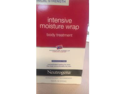 Neutrogena Norwegian Formula, Intense Moisture Wrap, Body Treatment, Fragrance Free, 10.5 Ounce (Pack of 2) - Image 3