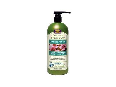 Avalon Organics Scalp Treatment Conditioner, Tea Tree, 32 fl oz