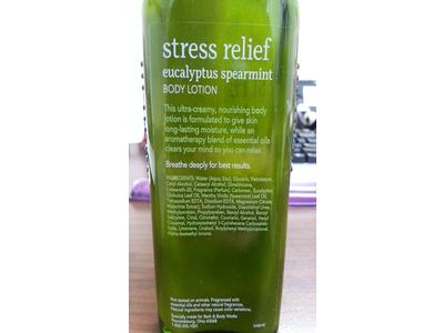 Bath Body Works Aromatherapy Stress Relief Eucalyptus Spearmint
