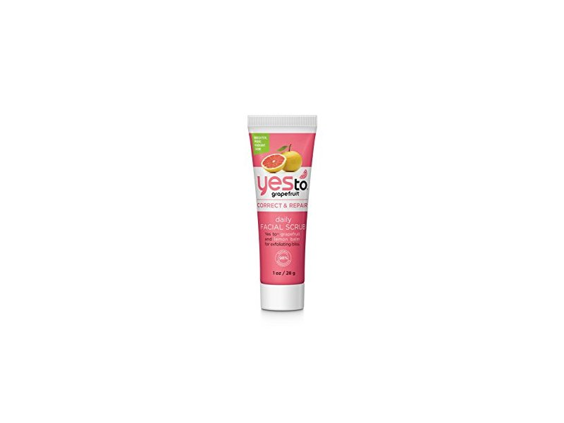 Yes To Grapefruit Daily Facial Scrub, 1 Ounce (Travel Size)