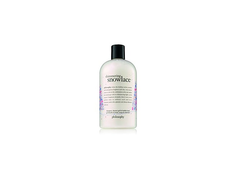 Philosophy Shimmering Snowlace Shampoo, Shower Gel & Bubble Bath, 16 fl oz