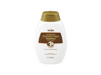Meijer Nourishing Coconut Milk Shampoo, 13 oz