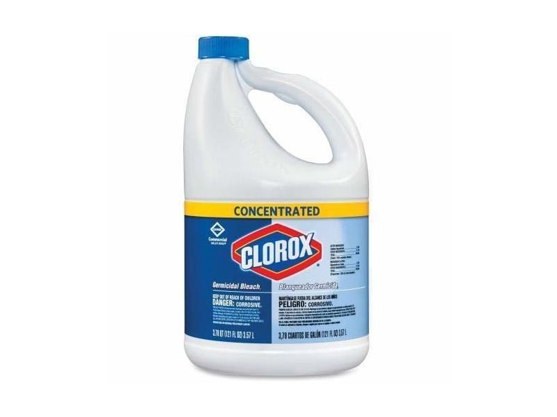 Clorox Concentrated Germicidal Bleach, Regular, 121 fl oz/3.57 L