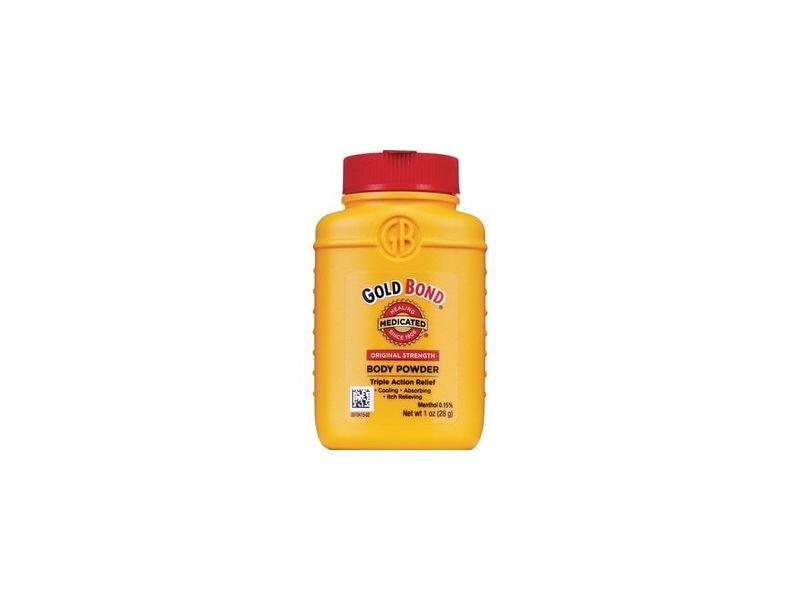 Gold Bond Medicated Original Strength Triple Action Relief Body Powder