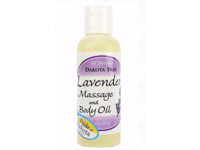 Dakota Free Lavender Massage & Body Oil, 4 oz - Image 2