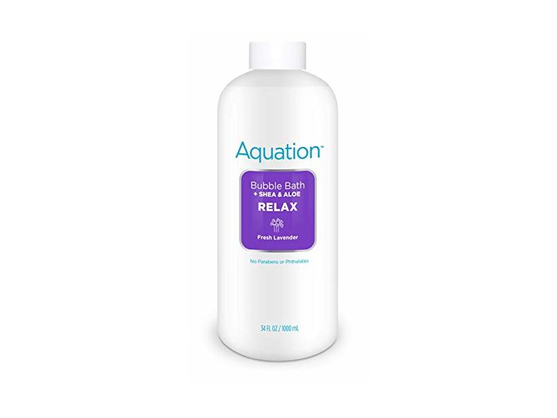Aquation Bubble Bath - 34 OZ - Fresh Lavender