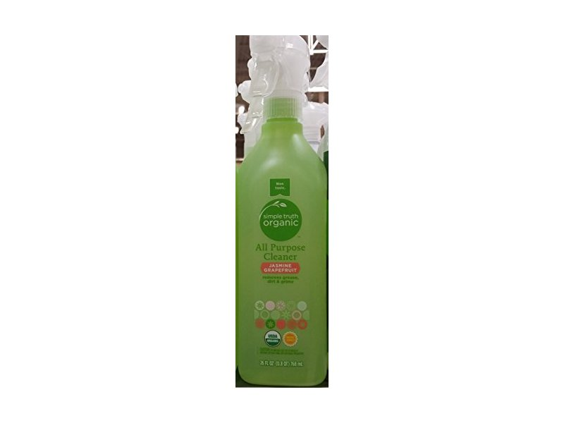 Simple Truth Organic All Purpose Cleaner, Jasmine Grapefruit, 26 oz