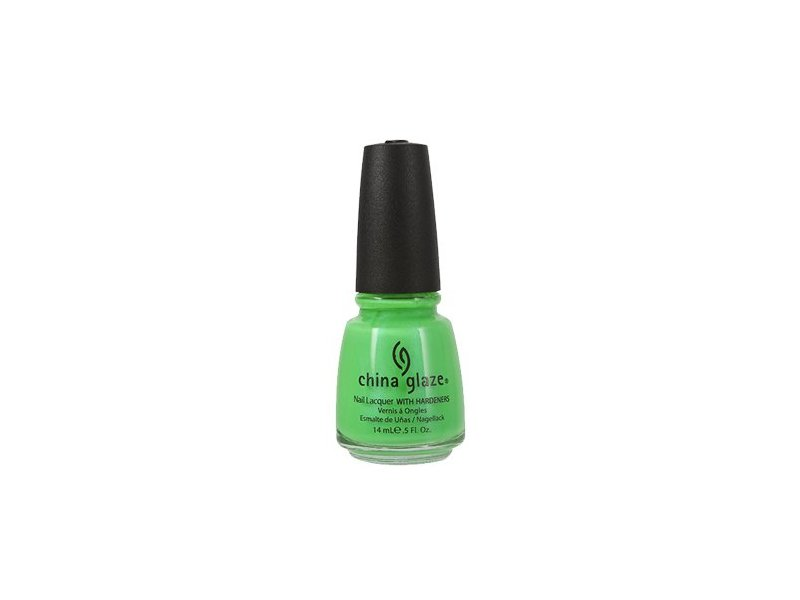 China Glaze Nail Polish, In The Lime Light, 0.5 Ounce